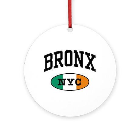 Bronx Irish Ornament (Round)