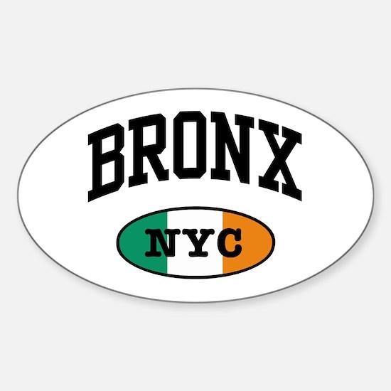 Bronx Irish Oval Decal