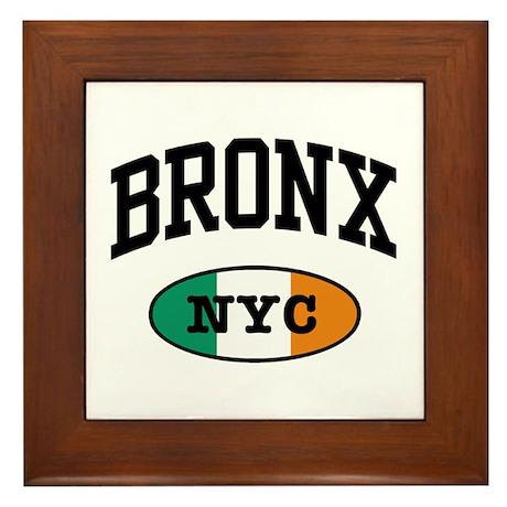 Bronx Irish Framed Tile
