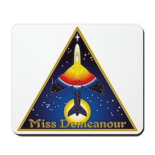Miss Demeanour Shirt-Front-04 Mousepad
