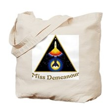 Miss Demeanour Logo Curved 04 Tote Bag