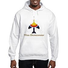Miss Demeanour Logo No Backgroun Hoodie