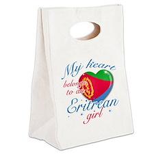 eritrean. girl Canvas Lunch Tote