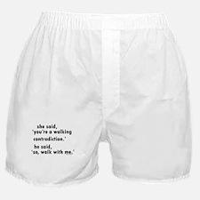 Contradiction Boxer Shorts