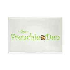 Cute Frenchie Rectangle Magnet