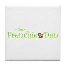 Unique French bull dogs Tile Coaster