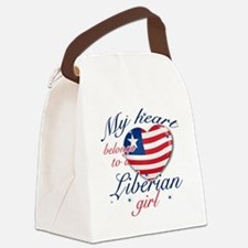 liberian girl Canvas Lunch Bag