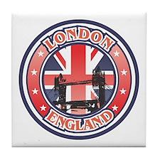Thames River Tile Coaster