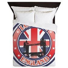 Thames River Queen Duvet