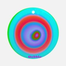 Mobbly4 2000x2000 200dpi Round Ornament