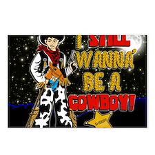cowboy-STADIUM-BLANKET.gi Postcards (Package of 8)
