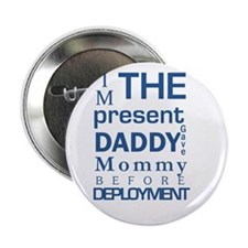 """Present From Daddy Boy 2.25"""" Button"""