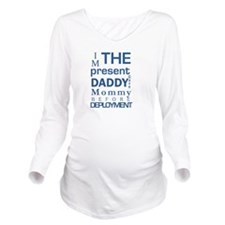 Present From Daddy B Long Sleeve Maternity T-Shirt
