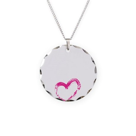 high voltage line wife black Necklace Circle Charm
