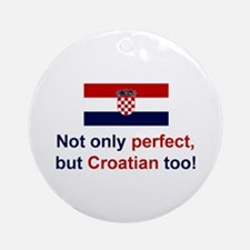 Perfect Croatian Keepsake Ornament