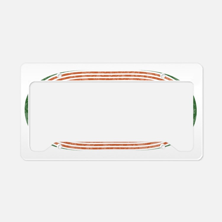 i javelin Track and Field License Plate Holder