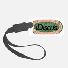 i Discus Throw Track and Field Luggage Tag