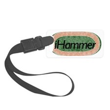 i Hammer Throw Track and Field Luggage Tag