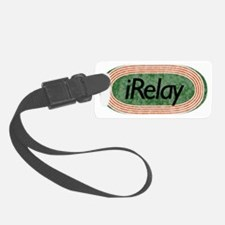 i Run Relay Track and Field Luggage Tag
