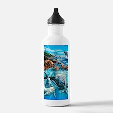 Sea_Life_23x35 Water Bottle