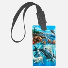 Sea_Life_23x35 Luggage Tag