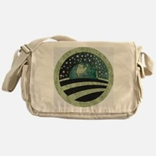 Obama Earth Logo Messenger Bag