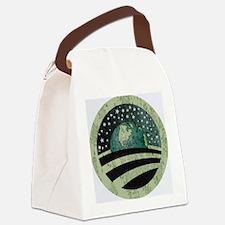 Obama Earth Logo Canvas Lunch Bag