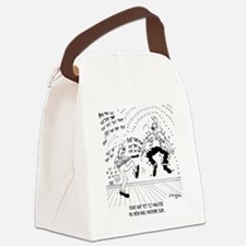 6428_carpenter_cartoon Canvas Lunch Bag