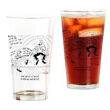 6428_carpenter_cartoon Drinking Glass