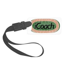 i Coach Track and Field Luggage Tag