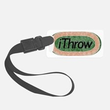 i Throw Track and Field Luggage Tag