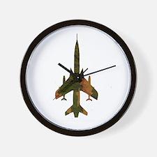 f105camo Wall Clock