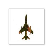 "f105camo Square Sticker 3"" x 3"""