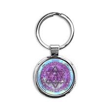 amulet_newborn Round Keychain