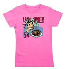 i-like-pie-smaller Girl's Tee