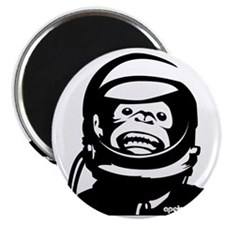 Monkey and small urlPOSTERBlack Magnet