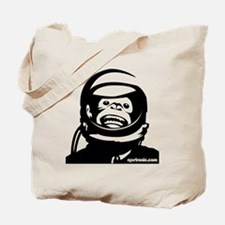Monkey and small urlPOSTERBlack Tote Bag