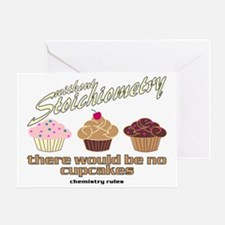 CupcakeChemistry Greeting Card