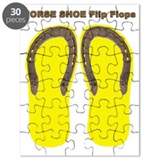 horse shoe yellow Puzzle