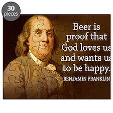 Ben Quote Beer Puzzle