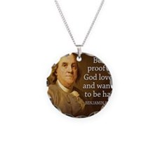 Ben Quote Beer Necklace