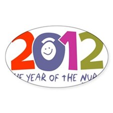 Nurse - 2012 year of the nurse colo Decal