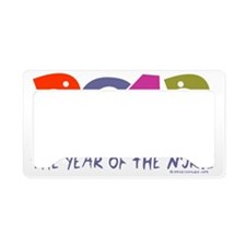Nurse - 2012 year of the nurs License Plate Holder