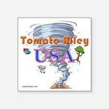 """tomato_alley_USA Square Sticker 3"""" x 3"""""""