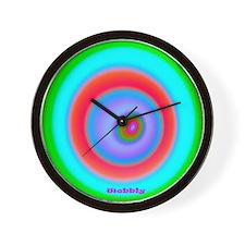 Wobbly 15.35 15.35 200dpi Wall Clock