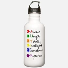 Autism Means Water Bottle