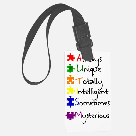 Autism Means Luggage Tag