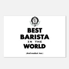 The Best in the World – Barista Postcards (Package