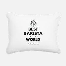 The Best in the World – Barista Rectangular Canvas