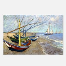 Coin VG Boats Postcards (Package of 8)